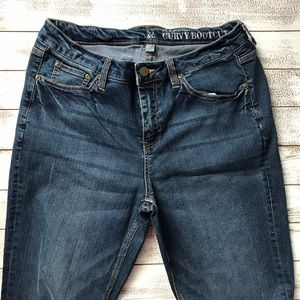 New York & Company Jeans - NEW YORK AND COMPANY CURVY BOOTCUT JEANS